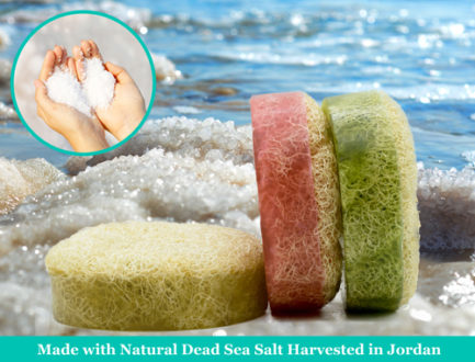 Dead Sea Salt Loofah Soap