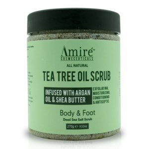 Tea Tree Body and Foot Scrub