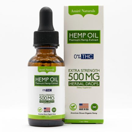 Hemp CBD Oil 500MG