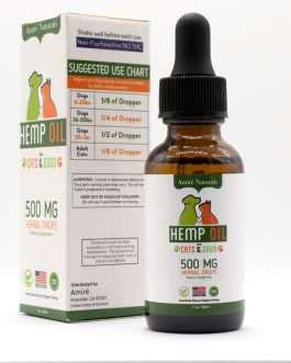 Hemp Extract CBD Oil – 500MG – Tincture for Dogs and Cats
