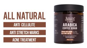All Natural Arabica Coffee Scrub By Amire