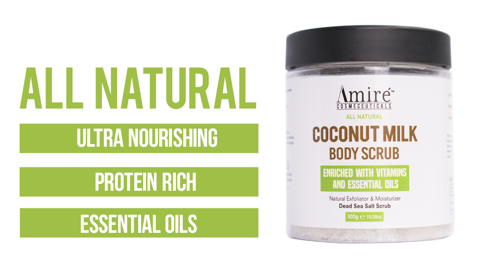 All Natural Coconut Milk Scrub by Amire