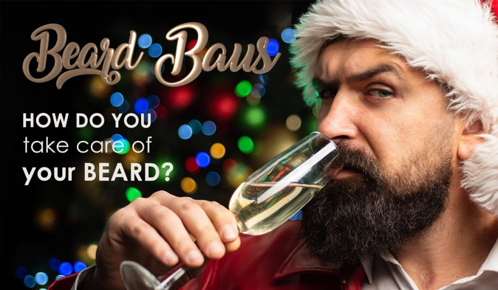 Bearded Man Wondering How Do You Care for Your Beard?