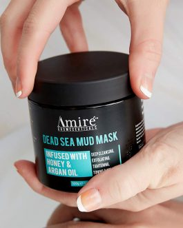 Dead Sea Mud Mask, Infused with Honey and Argan Oil