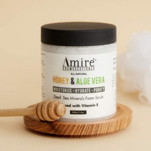 honey-and-aloe-vera-foam-scrub-by-amire-cosmetics