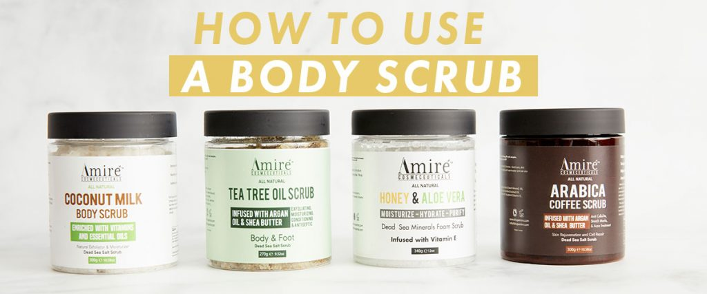 How To Use A Body Scrub