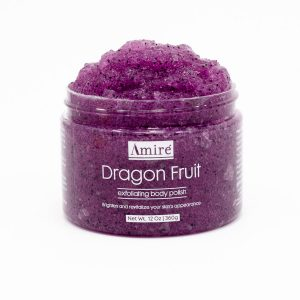 amire dragon fruit exfoliating body polish scrub skincare all natural dragonfruit