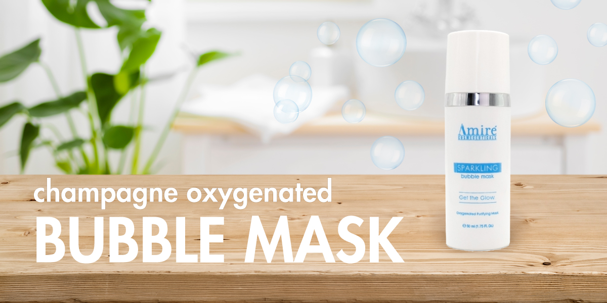 Champagne-Oxgenated-Bubble-Mask-web-banner-from-Amire