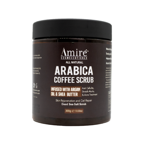 coffee scrub AMIRE COSMETICS