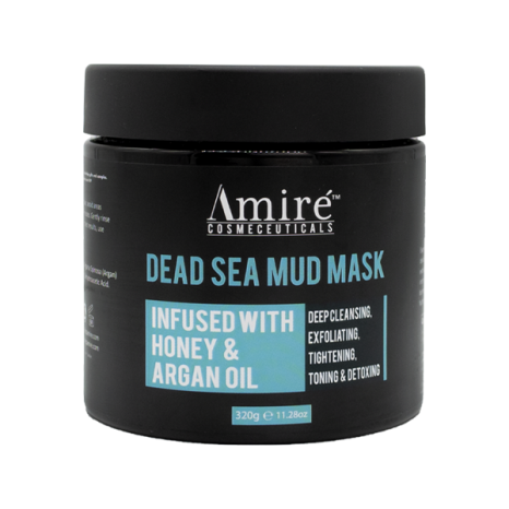 dead sea mud mask AMIRE COSEMTICS
