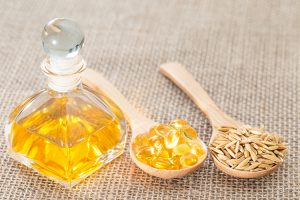 linoleic acid as oil, vitamin, and plant form